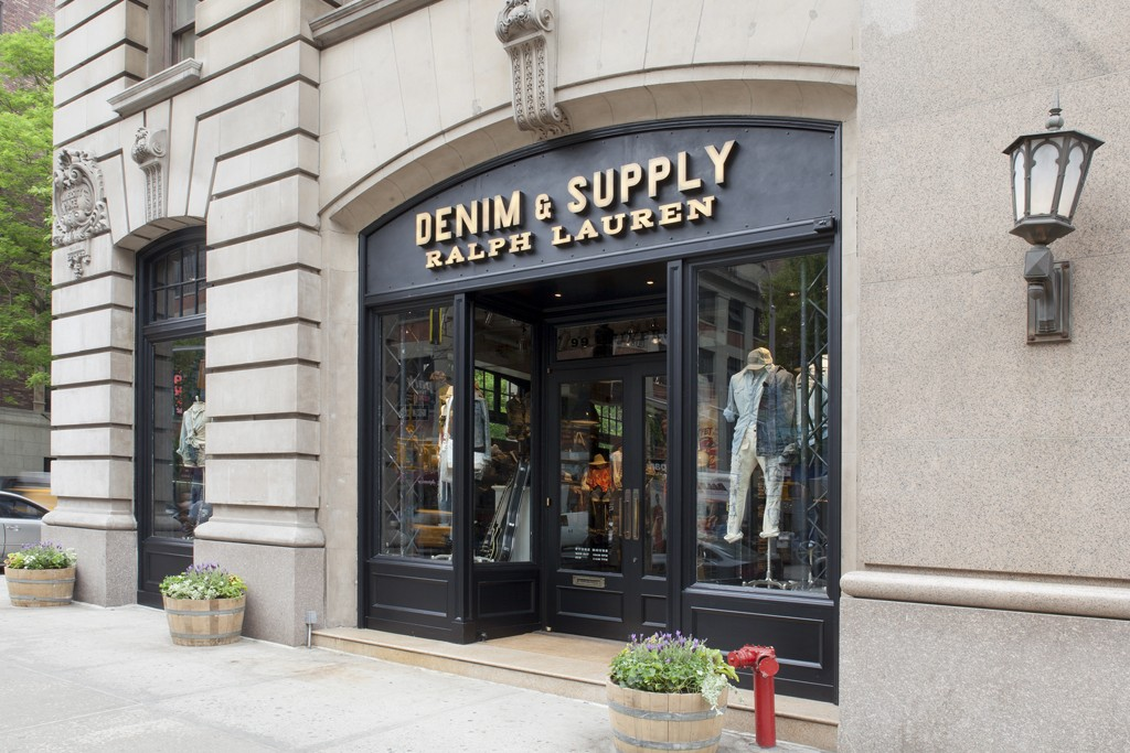 The Denim & Supply Ralph Lauren store at 99 University Place in Greenwich Village.