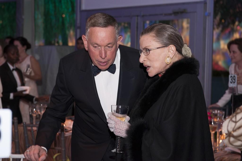 Michael M. Kaiser and Justice Ruth Bader Ginsberg
