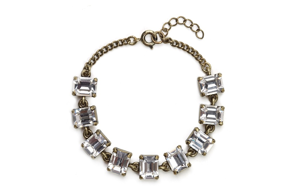 A look from BaubleBar and Swarovski Elements' new Sparkling Essentials collection.