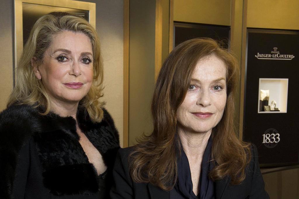 Catherine Deneuve and Isabelle Huppert