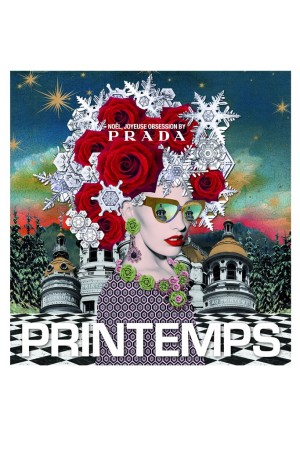A visual from the Prada and Printemps collaboration.