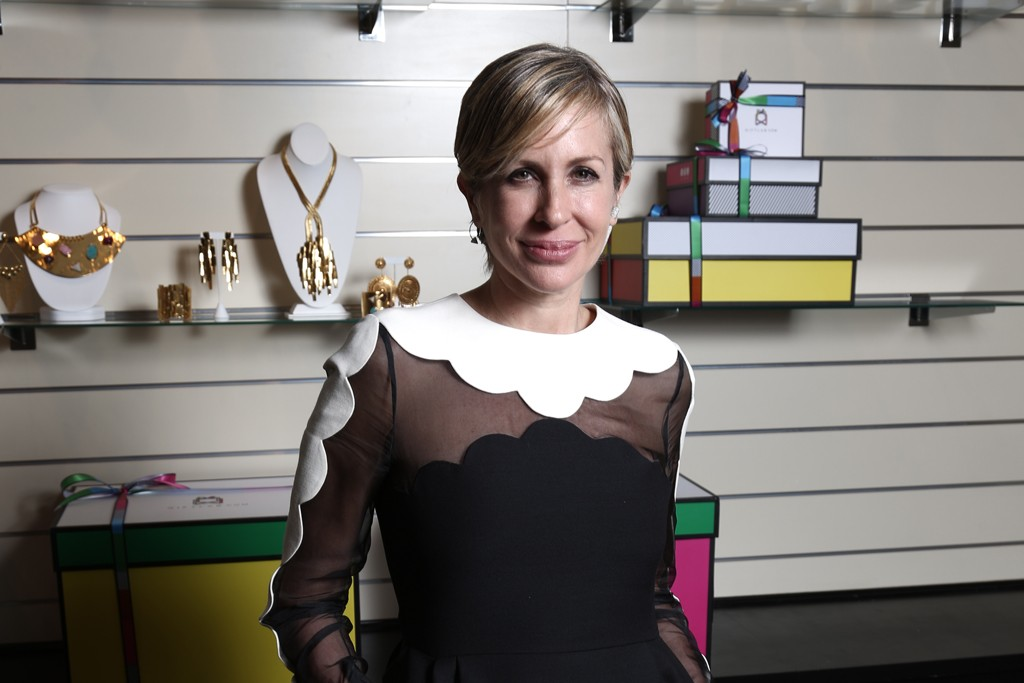 Carmen Busquets in Giftlab's New York offices.