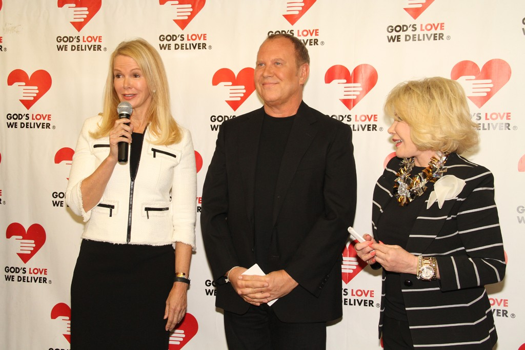 Blaine Trump, Michael Kors and Joan Rivers at God's Love We Deliver.