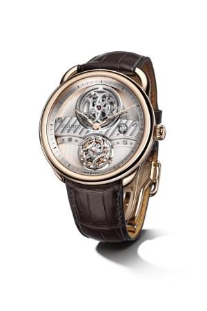 The Hermès Arceau Lift flying tourbillon watch