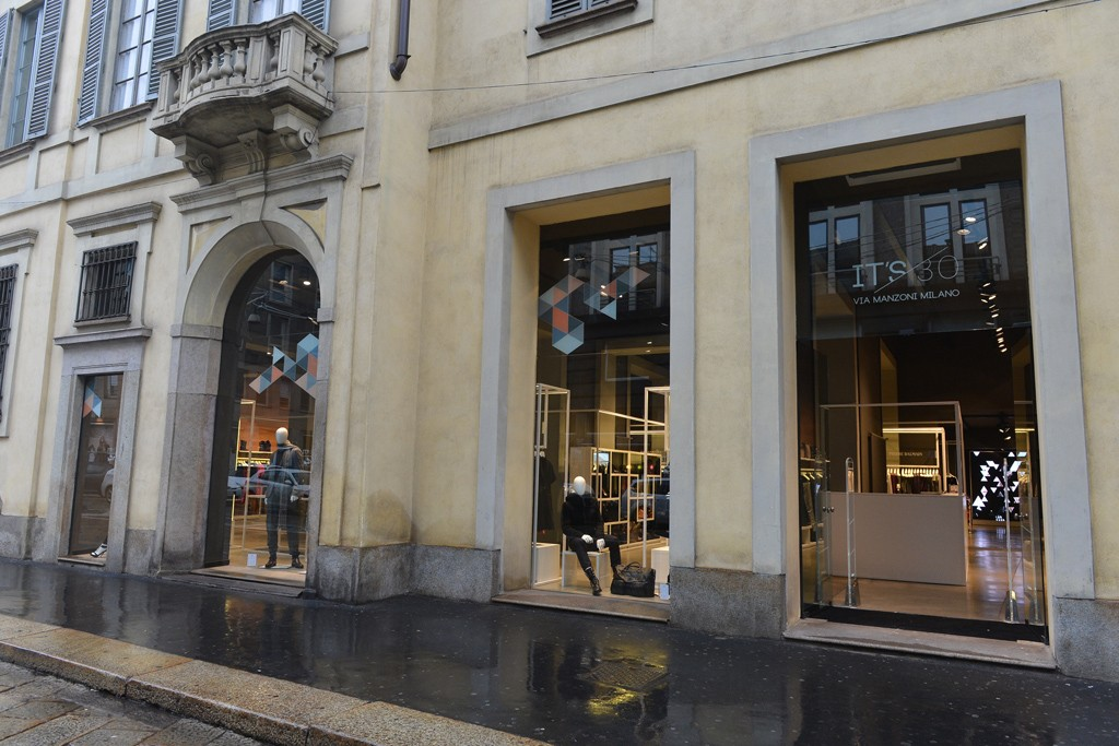 A view of the Ittierre store.