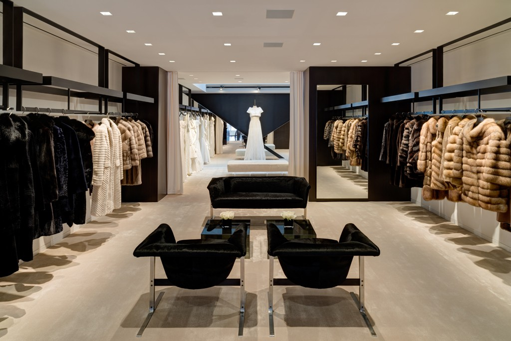 A view of the J.Mendel boutique on Madison Avenue.