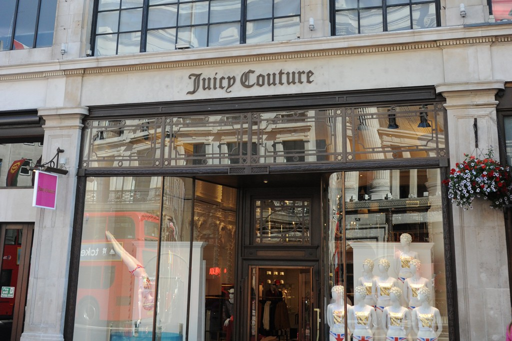 The Juicy Couture London store.