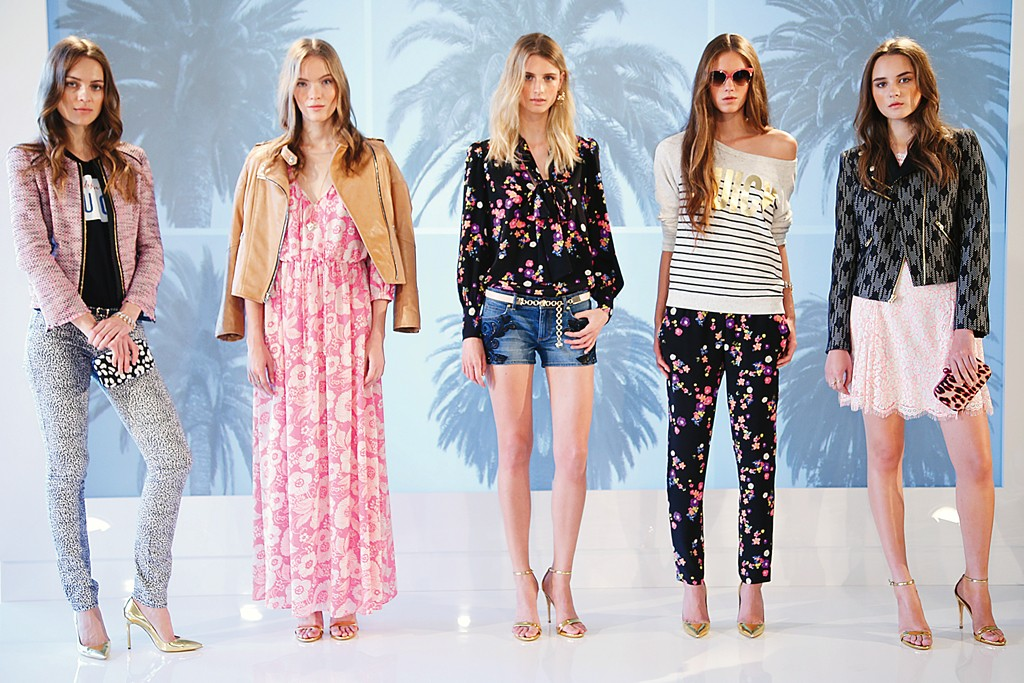 Spring looks from Juicy Couture.
