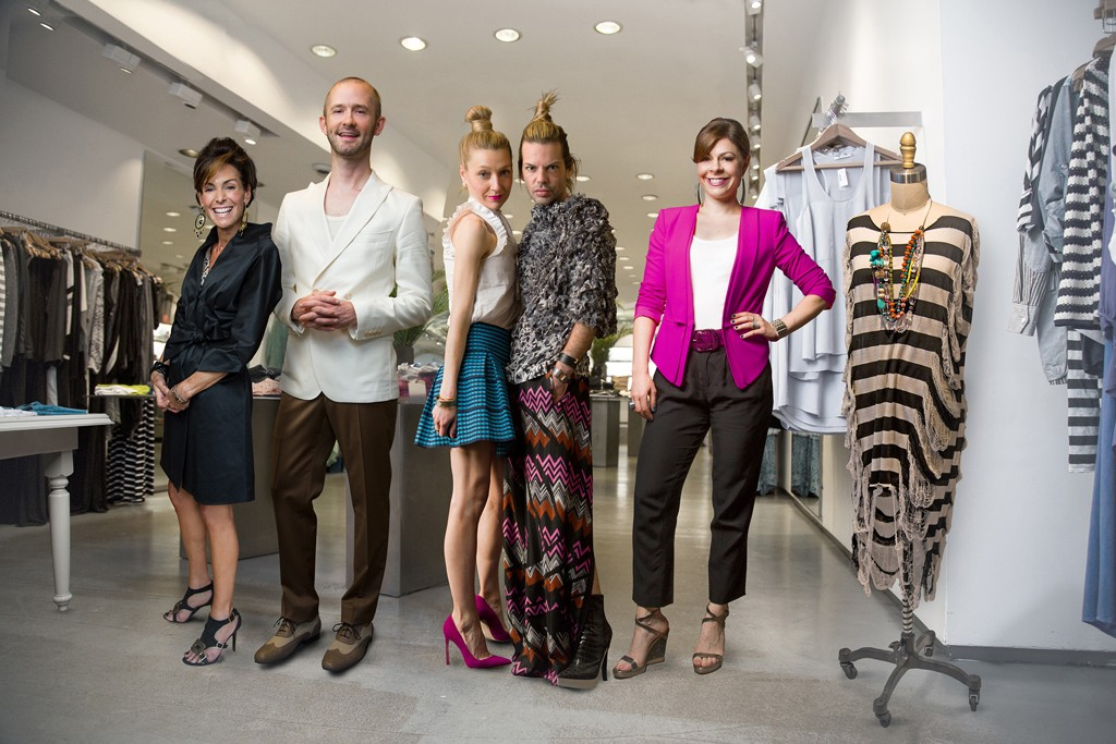 """Barbet Smith, Derek Roche, Gregg Asher, Tayler Carson Sandvick and Amy Salinger are the personal shoppers on """"Million Dollar Shoppers."""""""