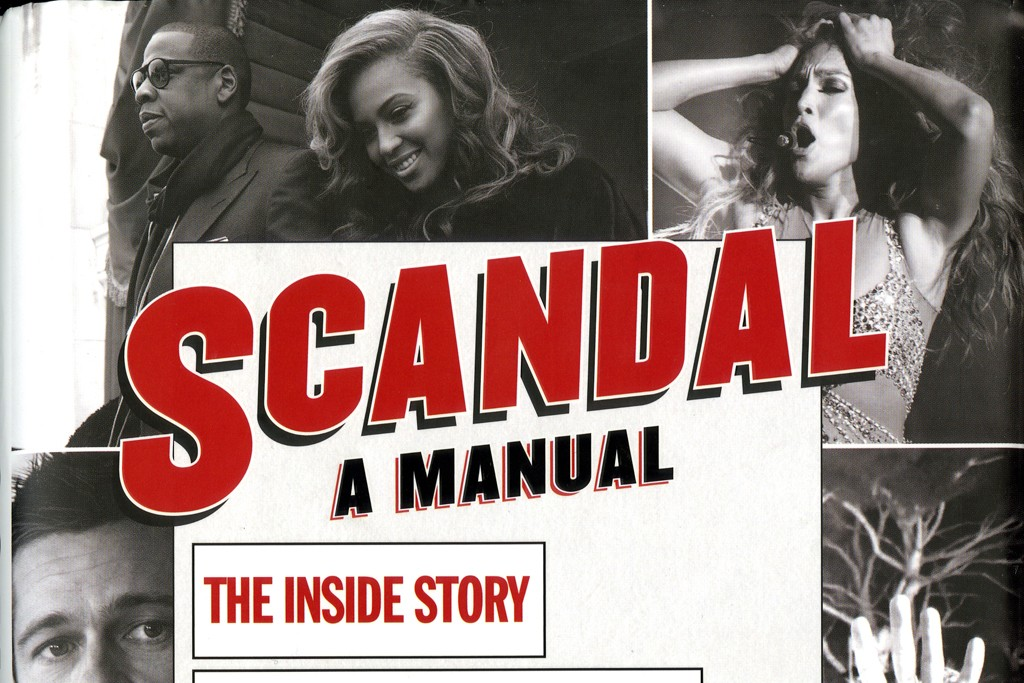 """The cover for """"Scandal: A Manual."""""""