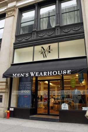 Jos. A. Bank initially offered $48 a share for Men's Wearhouse.