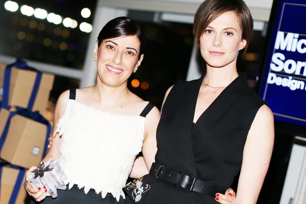 Behnaz Sarafpour and Elettra Wiedemann