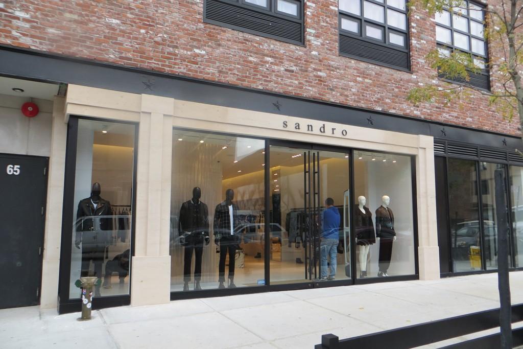 The Sandro store in Williamsburg, Brooklyn.