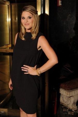 Jenna Bush Hager in Calvin Klein Collection