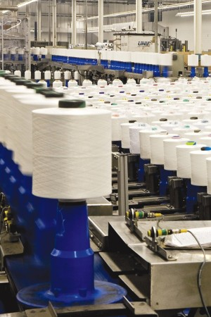 U.S. textile exports have risen in recent years.