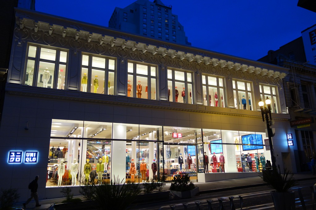 Uniqlo's San Francisco Union Square store.