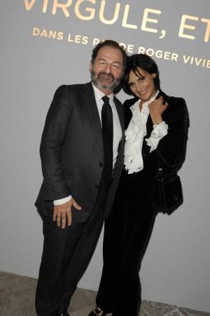 Denis Olivennes and Inès de la Fressange