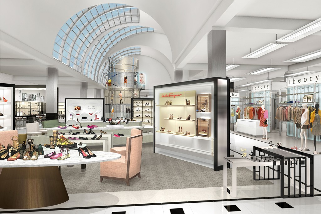The Los Angeles unit marks Bloomingdale's first department store opening in three years.