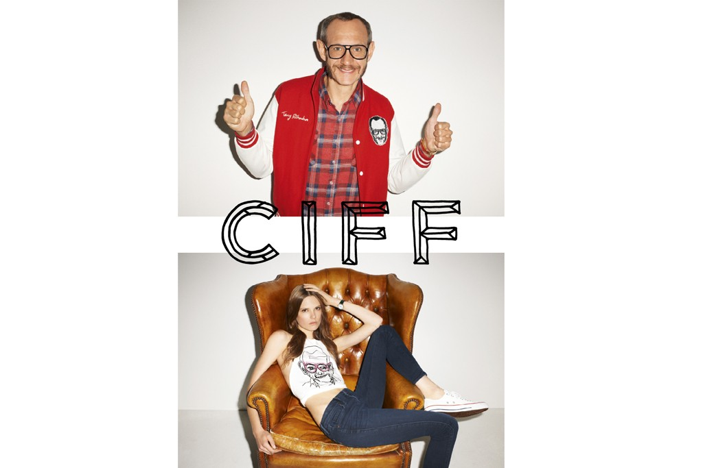 The new CIFF campaign featuring Terry Richardson and Caroline Brasch.