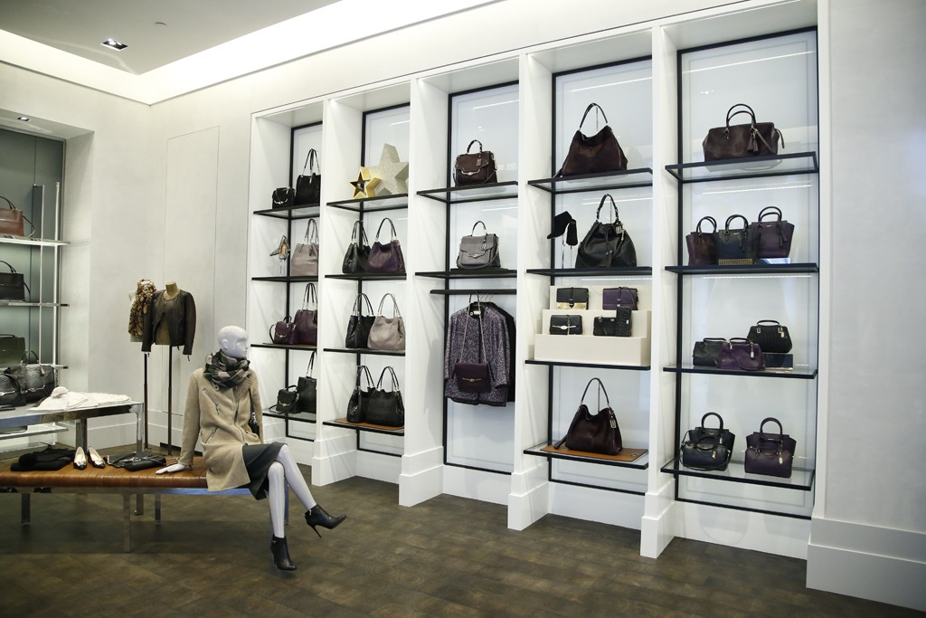 A view of Coach's 5th Avenue flagship store.