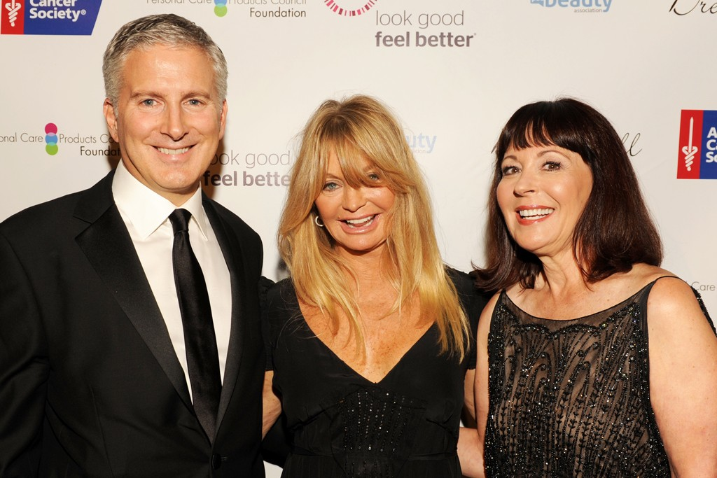 Jerry Vittoria, Goldie Hawn and Pam Baxter