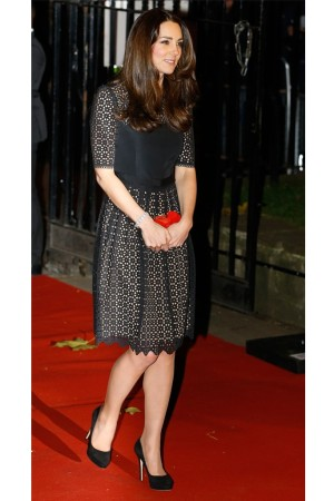 The Duchess of Cambridge in Alice Temperley.