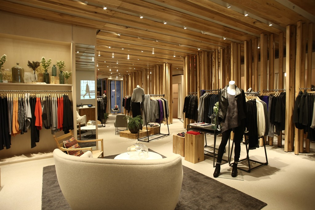 The Eileen Fisher store in the Time Warner Center.