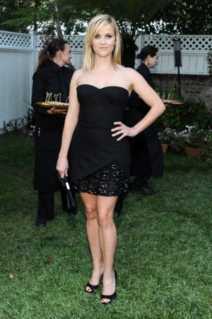 Reese Witherspoon in Haney Pret-a-Couture.