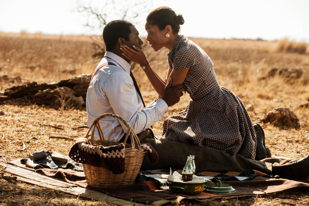 Idris Elba and Naomie Harris in a still from Mandela: Long Walk to Freedom.