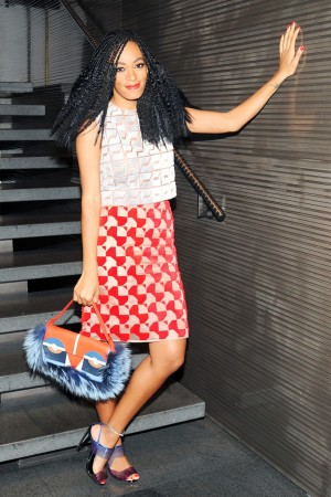 Solange Knowles in Fendi.