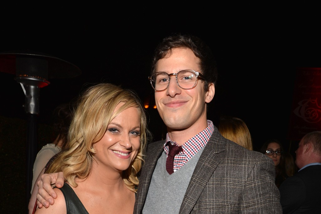 Amy Poehler and Andy Samberg