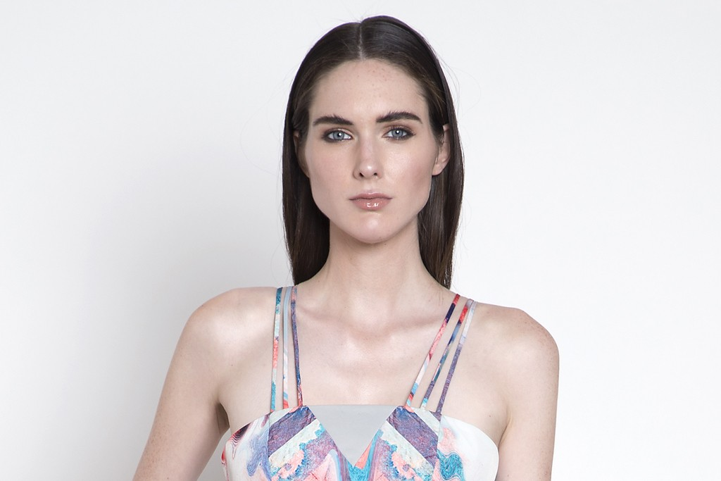 A look from Hunter Bell's spring collection.