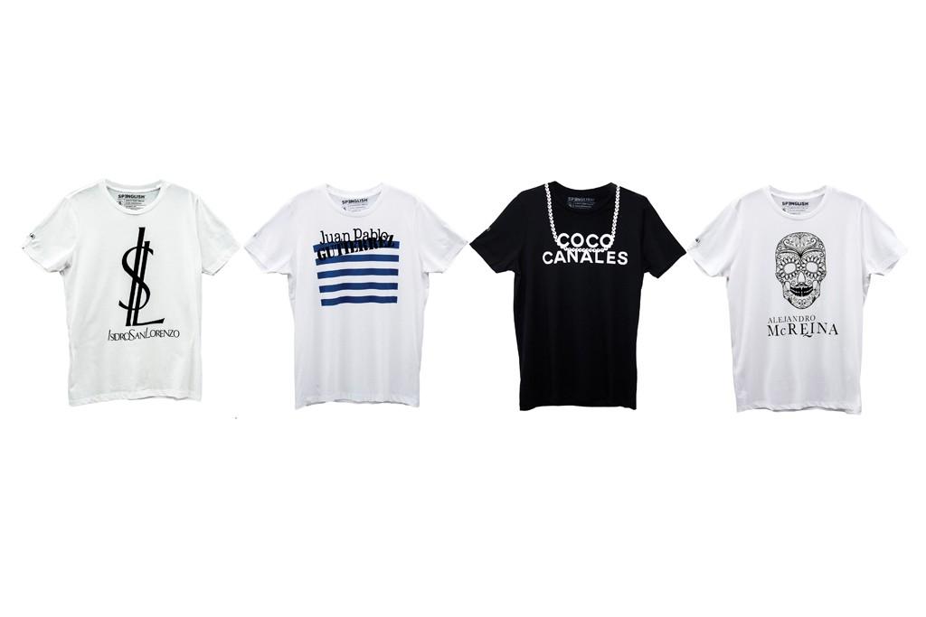 T-shirts by A La Mexique.