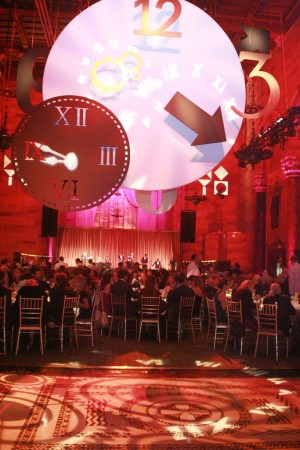 The scene at the American Friends of the Israel Museum gala.