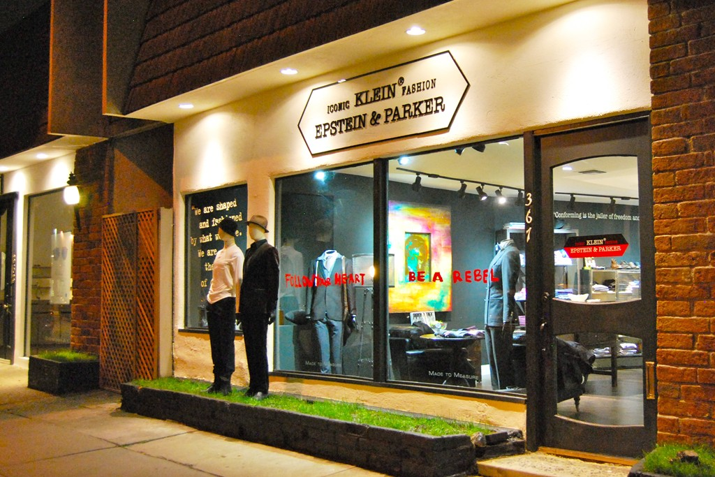 A Klein Epstein & Parker store in West Hollywood.
