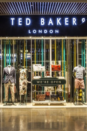 Ted Baker store in Kerry Centre mall in Shanghai.