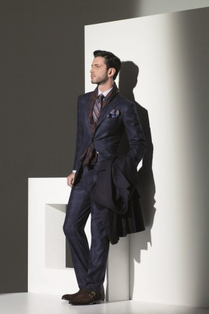 A look from Kiton Fall 2013.
