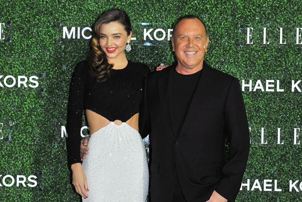 Miranda Kerr and Michael Kors