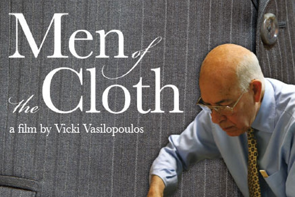 """The poster for Vicki Vasilopoulos' film, """"Men of the Cloth."""""""