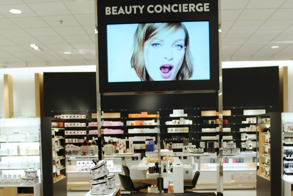 The beauty concierge in the Nordstrom at The Americana at Brand.