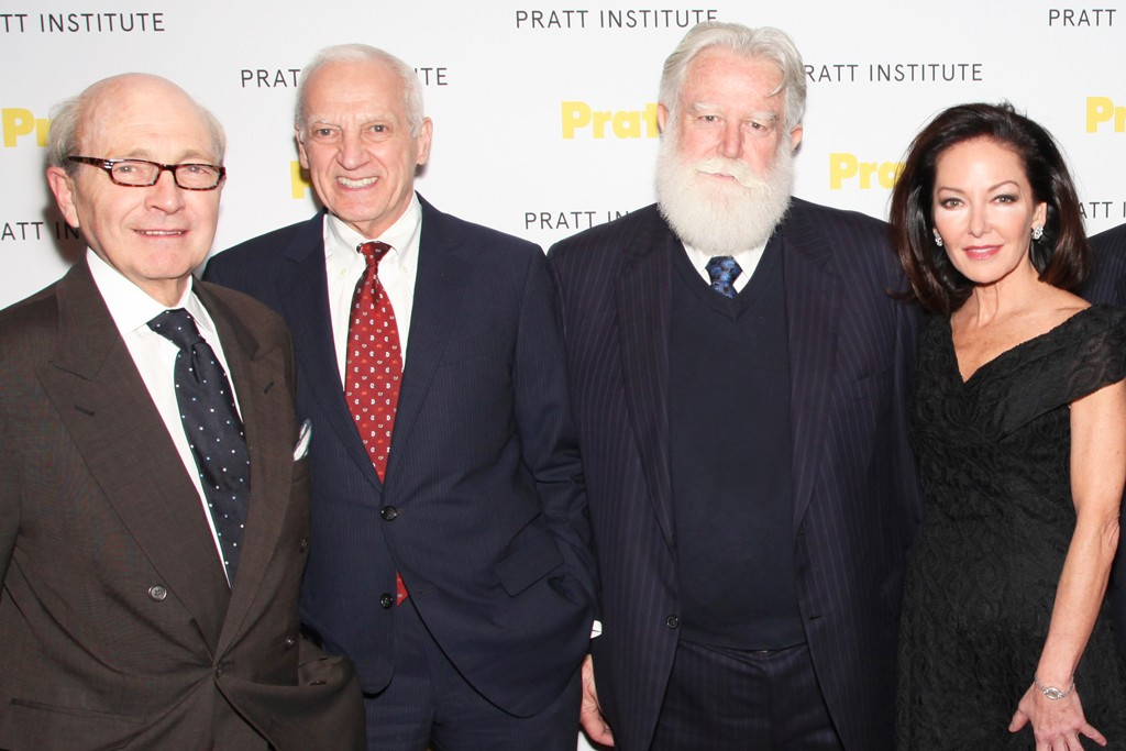 David Easton, Thomas Schutte, James Turrell and Margaret Russell.