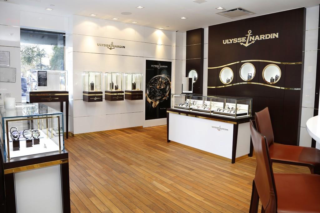 Ulysse Nardin's New York boutique.