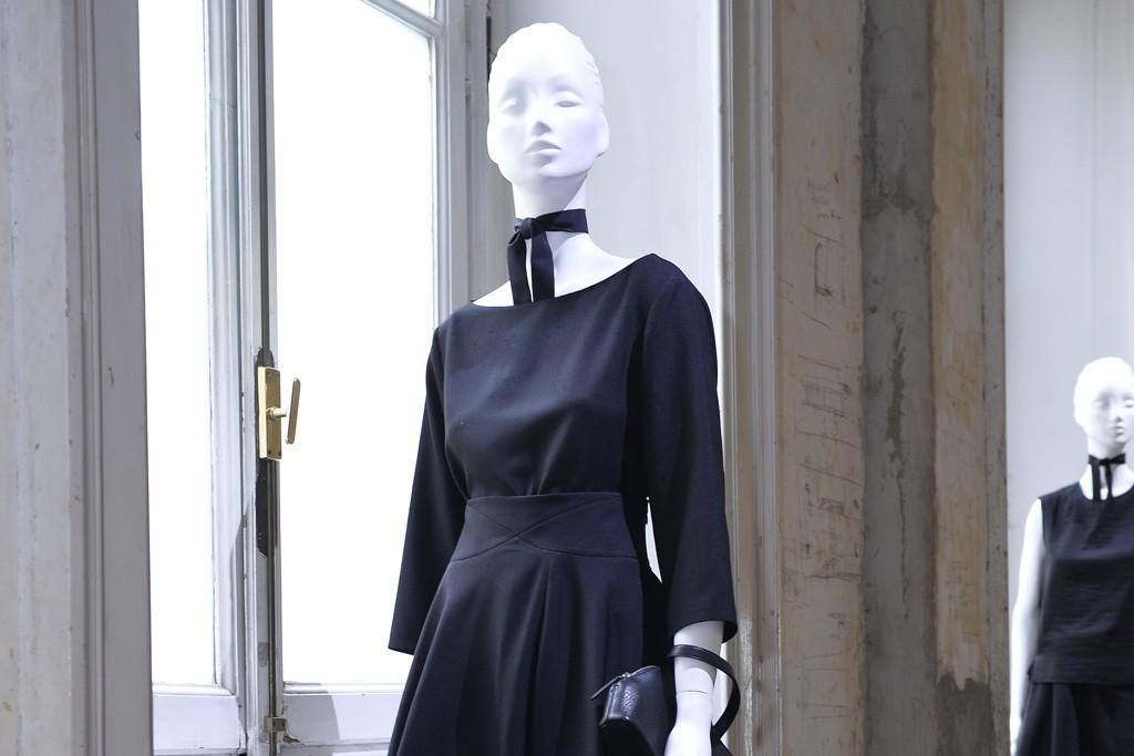 Stefano Pilati's first collection for Agnona Collezione Zero.