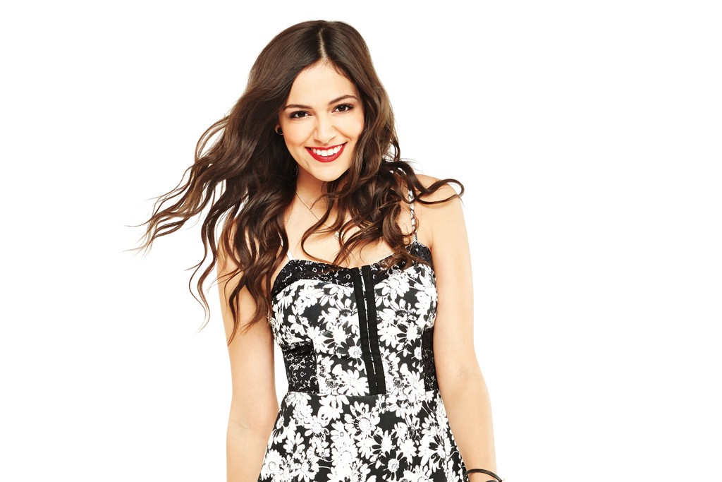 Bethany Mota in her collection for Aeropostale.