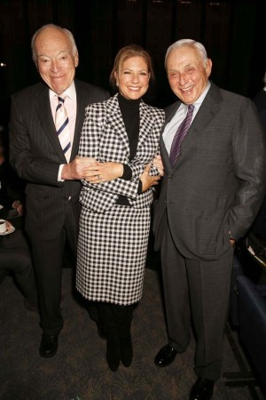Leonard A. Lauder with Abigal and Leslie H. Wexner.