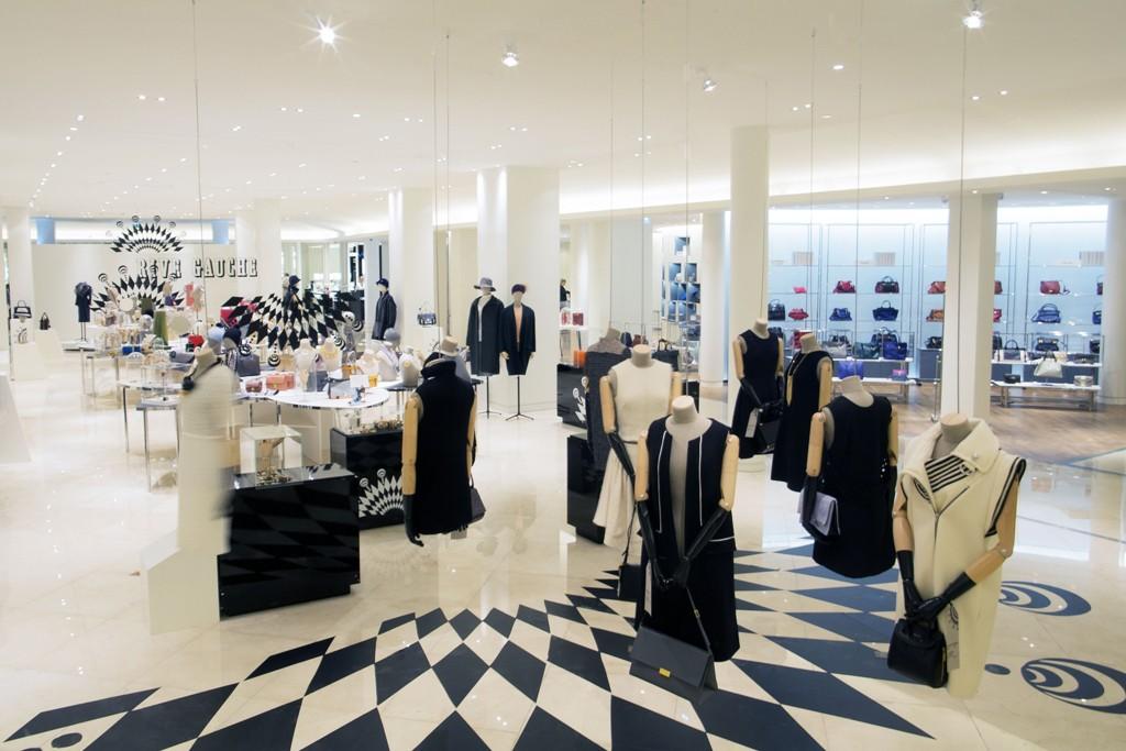 The Bon Marché accessories department.
