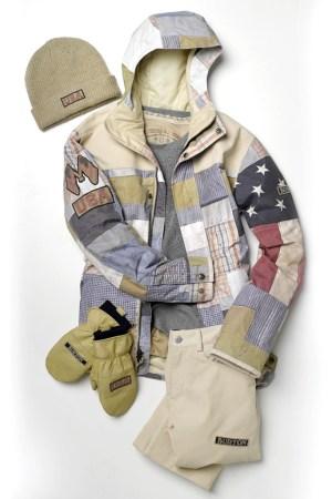 The Burton-designed uniform for the U.S. Snowboard Team.