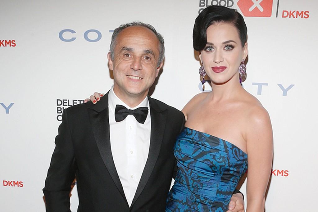 Michele Scannavini and Katy Perry