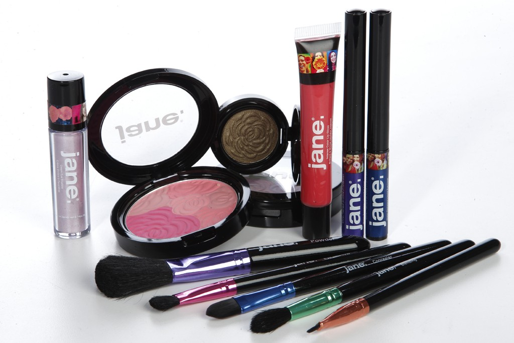 Items from Jane cosmetics.