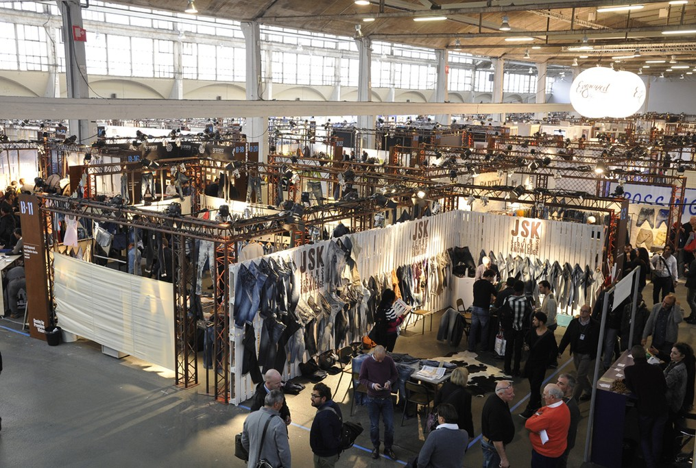 Denim by Première Vision held at La Halle Freyssinet in Paris for the last season, before it moves to Barcelona, Spain.